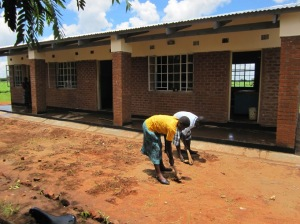 Building the library in Malawi